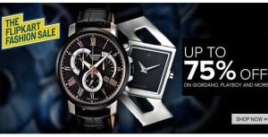 FLIPKART-upto-75-off-on-watches