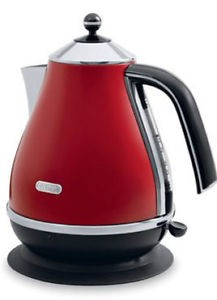 Delonghi Icona Electric Kettle (Red)