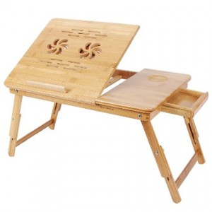 Multipurpose Foldable Wooden Table