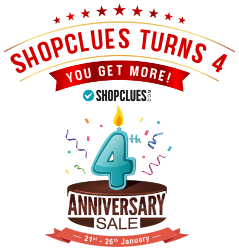 Shopclues Anniversary Sale offer
