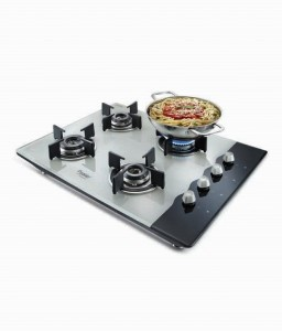 Prestige 4 burner AI Hob Top on pepperfry