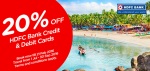 Air Asia HDFC Bank Offer