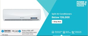 Flipkart Split AC Offer