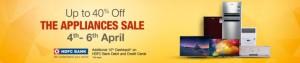 Amazon Appliances Sale