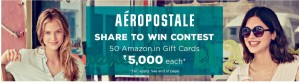 Amazon Share To Win Contest