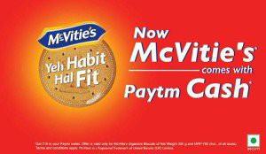 Paytm McVities Offer
