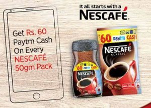 Paytm Nescafe Offer