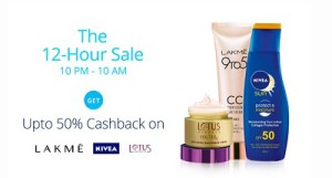 Paytm The 12 Hour Sale