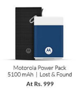 Snapdeal Motorola Power Bank