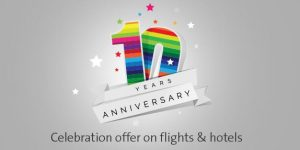 Cleartrip 10th Anniversary Sale