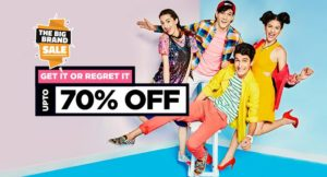 Jabong Big Brand Sale Offers