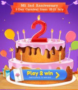 Mi 2nd Anniversary Sale