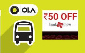 Ola BookMyShow Offer