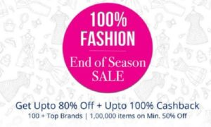 Paytm End of Season Sale