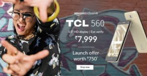 TCL 560 Mobile Phone from Amazon