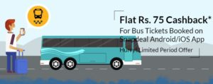 snapdeal bus offers
