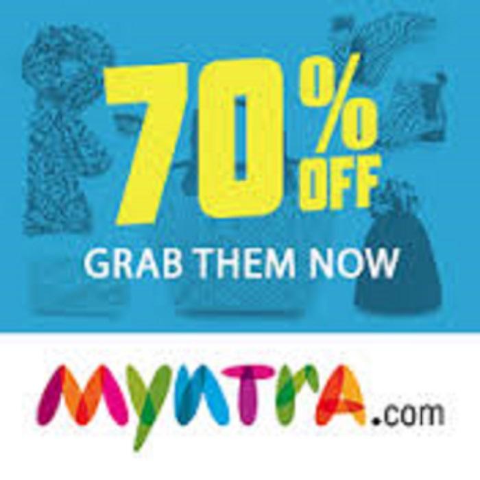 Myntra Flat 70 Sale