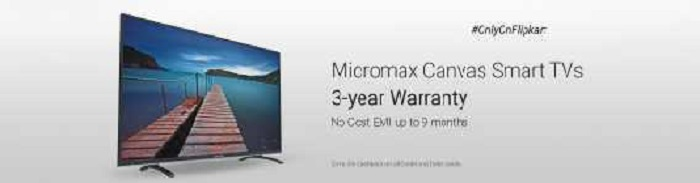 Micromax Canvas Smart TVs