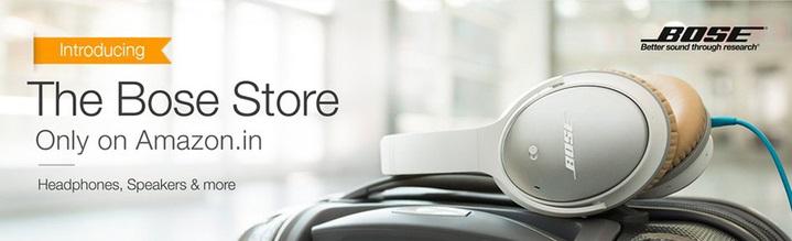 Amazon Bose Audio Store