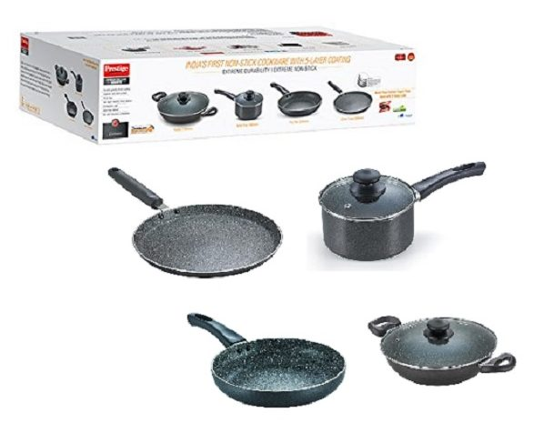 Buy Prestige Omega Kitchen Set Amazon At Rs 3 345 Flat 14 Off