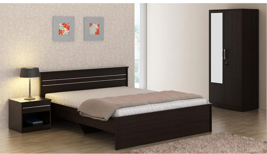 Spacewood Carnival Bed with Side Table