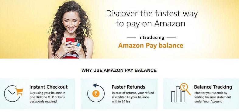 Amazon Pay Balance Cashback Offers