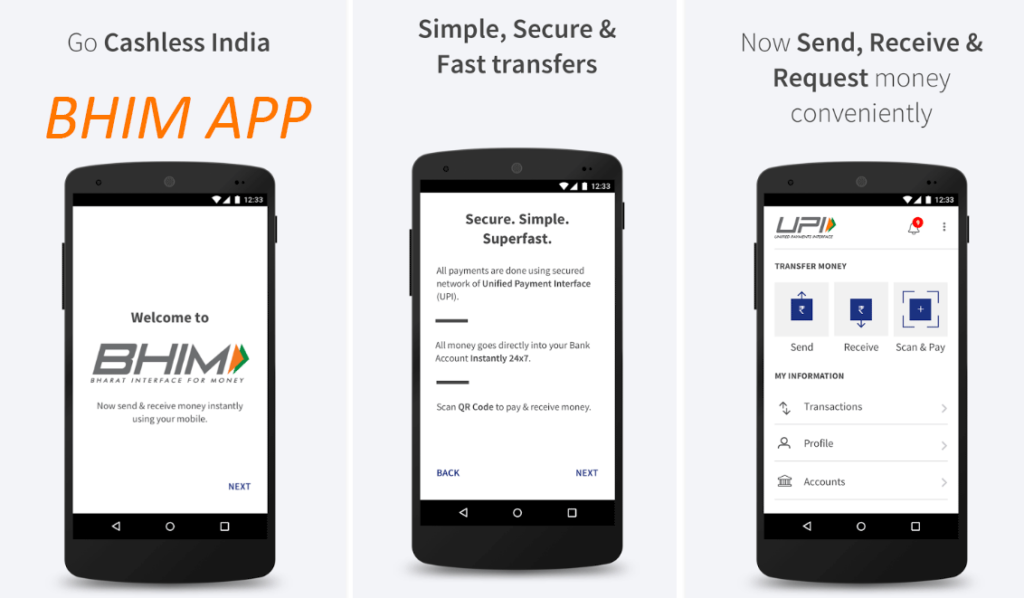 BHIM Mobile APP Download