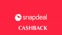 Snapdeal Cashback Offers