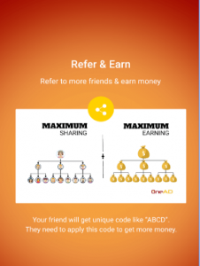 Onead App Refer And Earn Offer Earn Up To Rs 2 5 Lakhs Promo Code